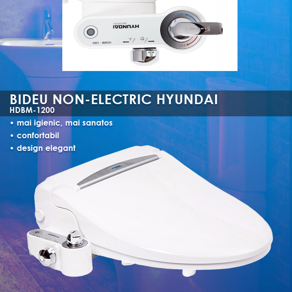 caracteristici bideu non electric hyundai hdbm 1200