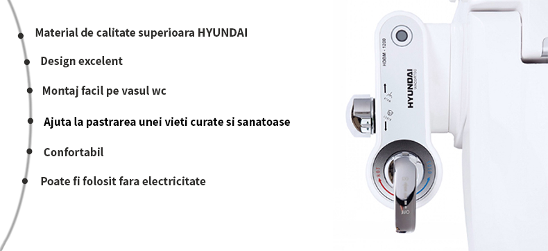 avantaje bideu non electric hyundai hdbm 1200
